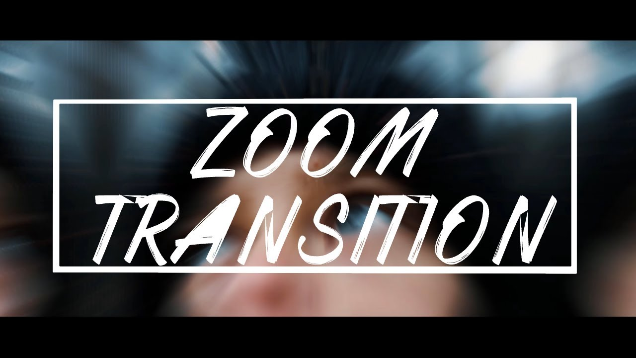 How To Do A Zoom Transition In Adobe Premiere Pro
