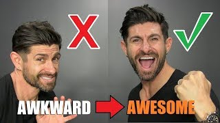 How To STOP Being Shy & Awkward (START Being AWESOME)