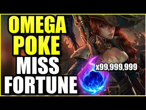FULL AP MISS FORTUNE SUPPORT 100% CANNOT LOSE LANE IN SEASON 11! THIS OMEGA POKE BOTLANE IS NOT FAIR