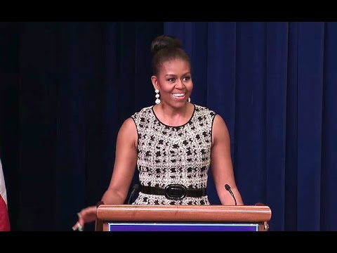 The First Lady Speaks on Career and Technical Education (CTE)