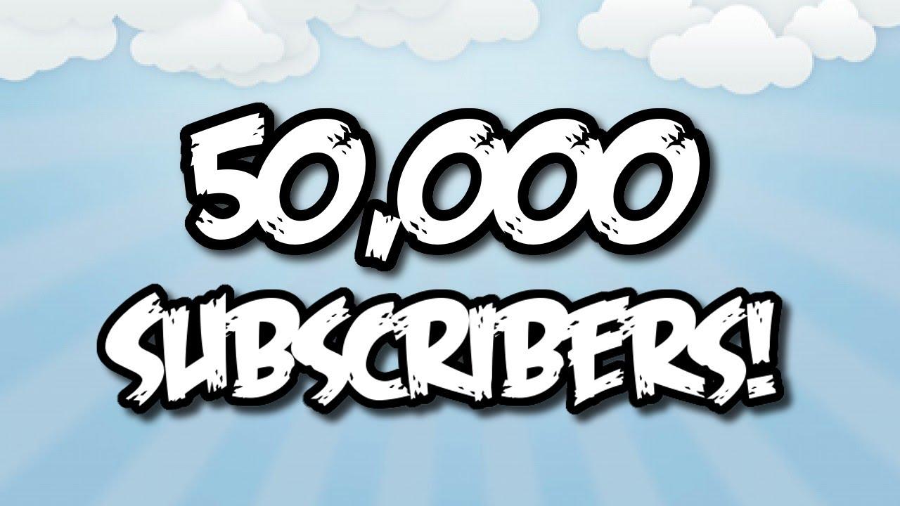 50,000 مشترك |شكراً لكم