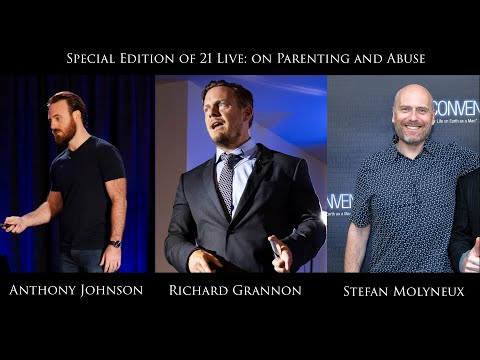 Stefan Molyneux And Richard Grannon - Special Interview On Parenting And Abuse - 21 Live