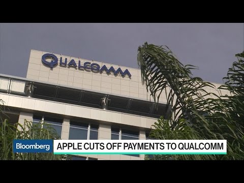 Apple Cuts Off Payments to Qualcomm