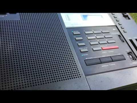 DX'pedition Magic 590 Albany, NY Heard in Kingston, NY On Sony ICF-2001