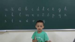 Bé học bảng chữ cái Tiếng Việt - T1