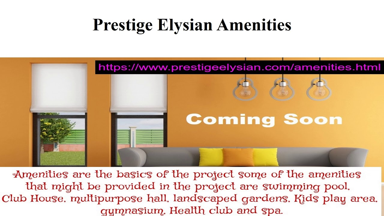 Prestige Elysian At https://www.prestigeelysian.com