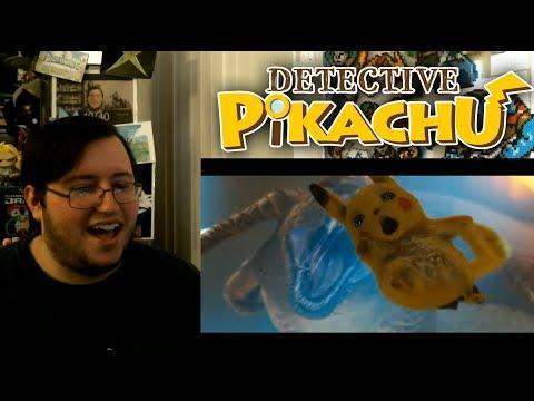 Gors POKÉMON Detective Pikachu Official Trailer #1 REACTION
