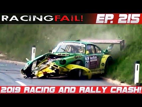 RACINGFAIL! CHANNEL DEMONETIZED! Racing And Rally Crash Compilation 2019 Week 215