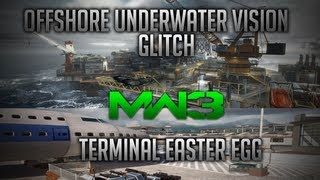 *NEW* MW3 Offshore Water Vision Glitch + Terminal Easter Egg!