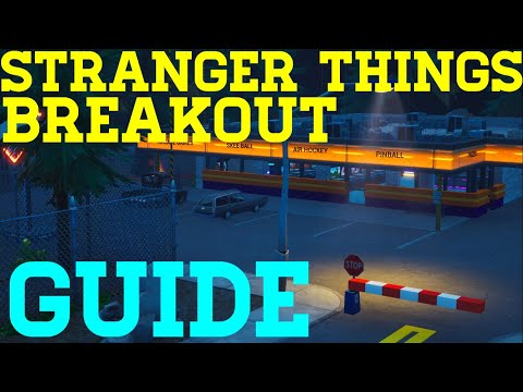 How To Complete Stranger Things Breakout By quenthein - Fortnite Creative Guide