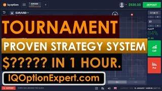 IqOptionExpert.com - IQ Option Tournament Sure Win Strategy in 1 hour.