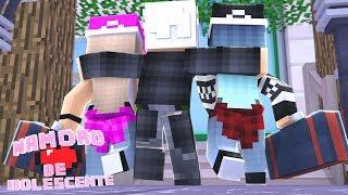 Minecraft - NAMORO DE ADOLESCENTES 2.0 #21 - MEU AMIGO LEVOU DUAS MENINAS PARA DORMI NA MINHA CASA?!