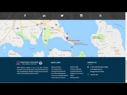 SUNY Maritime Option 1