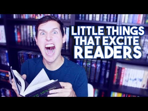 LITTLE THINGS THAT EXCITE READERS