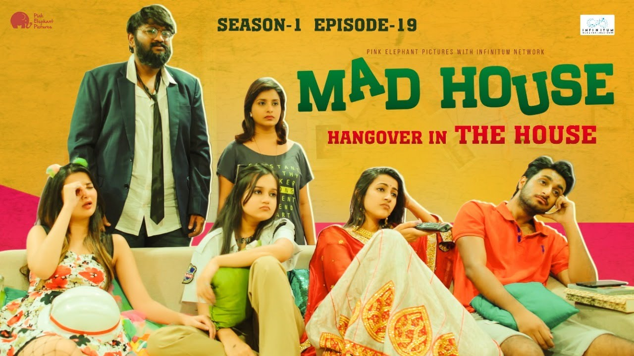 "MadHouse | Sitcom S01E19 - ""Hangover in the house"" 