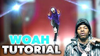 HOW TO DANCE Lİl Baby - Woah (TUTORIAL)