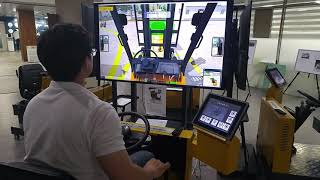 VR 지게차 운전 시뮬레이터