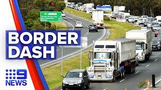 Coronavirus: Queenslanders rush back before border lockout   9 News Australia