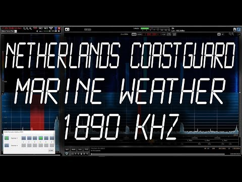 Netherlands Coastguard (Appingedam) - Weather Marine Forecast - 1890 kHz