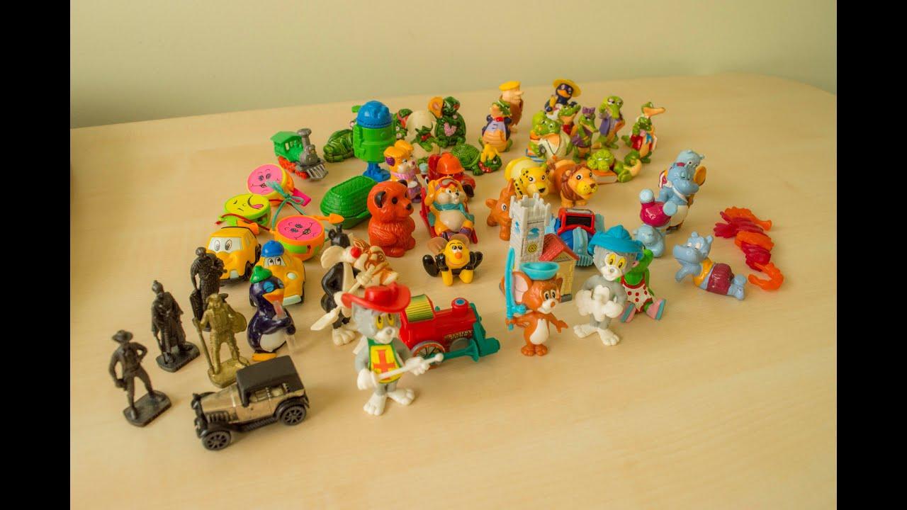 Kinder SURPRISE Vintage toys Animals, Tom & Jerry, figures ...