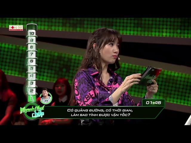 Nhanh Như Chớp Tập 20: Giải cứu khách mời (18/08/2018)