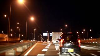 国道17号バイパス宮前インターチェンジ R17BP下り→ 上尾道路(R17)下り