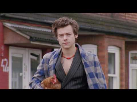 HARRY STYLES FOR GUCCI'S MEN'S TAILORING