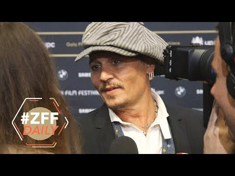 Johnny Depp am Zurich Film Festival | ZFF Daily 2018