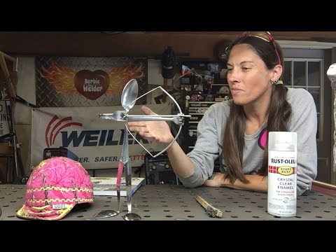 How To Weld A Bow Hunter Using Silverware