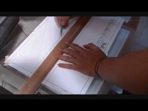 Dibujo tecnico trazo intrumentos youtube - Mesa de dibujo tecnico ...
