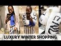 Luxury Winter Shopping at Harrods | Winter Coats & Accessories | Duchess of Fashion