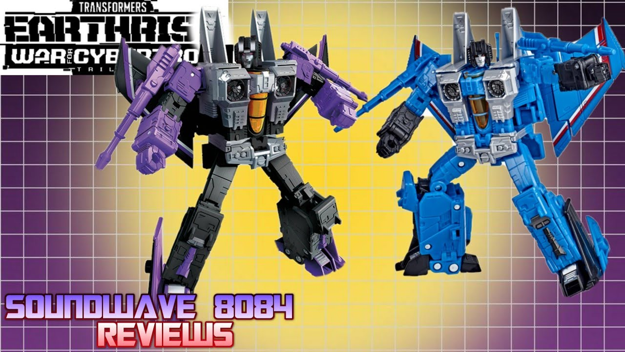 Earthrise Skywarp and Thundercracker Comparison Review By Soundwave 8084