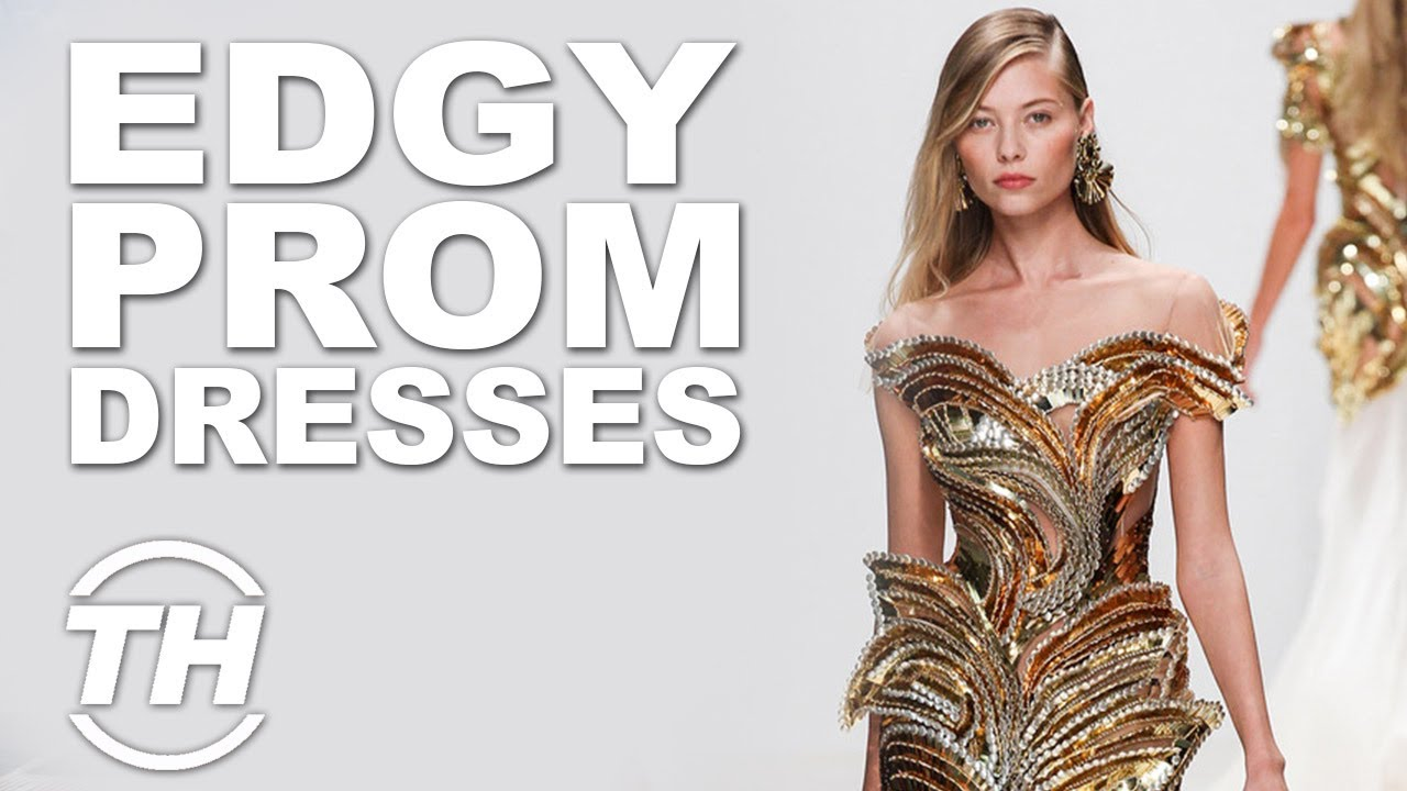 Top 5 Edgy Prom Dresses | Rebellious Formal Fashion - YouTube
