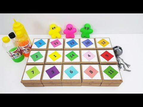 Özlem Fatih'e Şaka Yaparsa :) Kutudan Ne Çıkarsa Slime Challenge - Eğlenceli ve Komik Video
