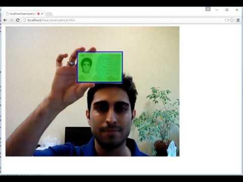 ID Card OpenCV, JS, Web