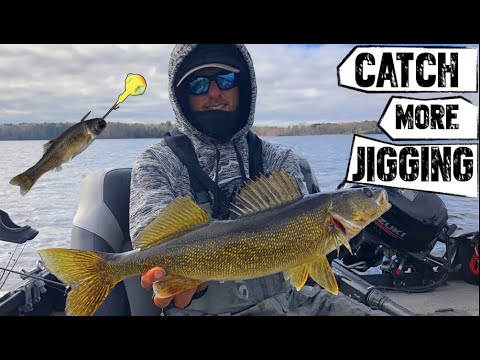 How To Jig Spring Walleyes Like A Pro