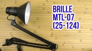 Розпакування Brille MTL-07 25-124