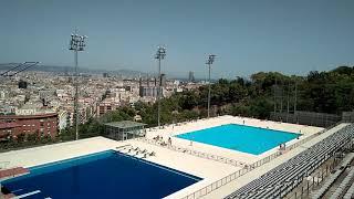 Олимпийский бассеине.Барселона