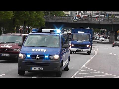 [DOPPELT] 2x2 MTW + MLW Ortung THW OV Gadebusch in Hamburg (HD)