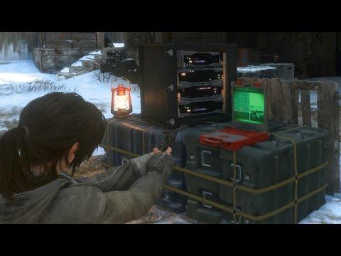 Data Corruption Challenge - Rise of the Tomb Raider Walkthrough