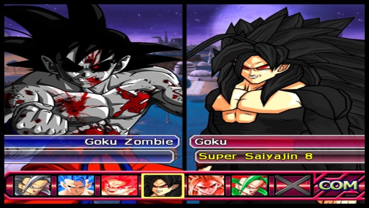 0490d7d1d GOKU e suas formas BIZARRAS!! Dragon Ball Z Budokai Tenkaichi 3 AF ...