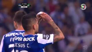 Goal | Golo Corona: FC Porto (4)-1 V. Setúbal (Liga 17/18 #31)