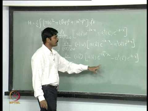 Mod-01 Lec-04 Quantization of Real Scalar Field - II