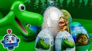 Arlo abre Huevos Sorpresa con Bebé Dinosaurio thumbnail