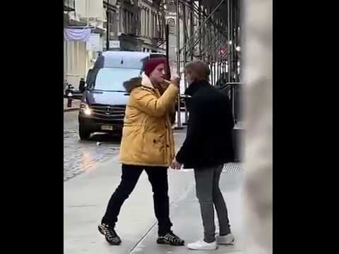 Brother Wease - WATCH: Video of Two Guys Angrily Flipping Each Other Off