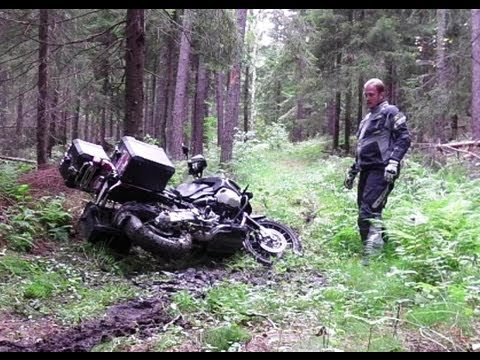 Stuck in Mud, BMW GS 1200 (ENG)