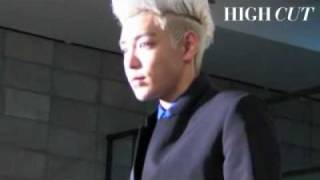 BIGBANG T.O.P「HIGH CUT」Photo Shooting!!