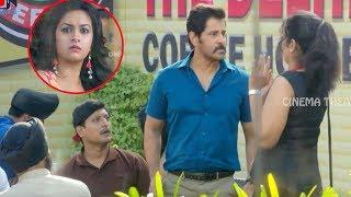 Keerthy Suresh & Vikram  Blockbuster Movie Ultimate Interesting & Love Scene   Cinema Thetaer