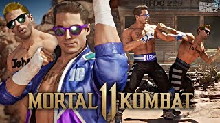 Mortal Kombat 11 - NEW Hollywood/Stunt Double Johnny Cage Gameplay!! [EXCLUSIVE]