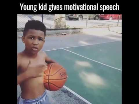 Young Kid Giving Motivational Speech II  MUST WATCH II